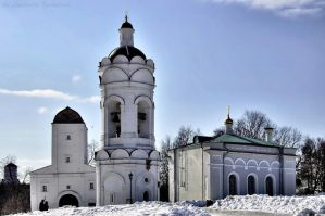 Church of St. George and bell tower and tower by Lyutik966