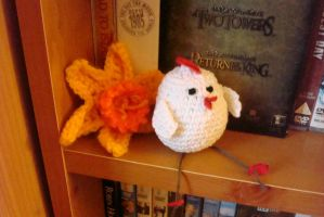 +Crochet+ Easter Chick by gatchacaz