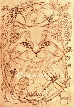 Work In Progress for Minnie the Cat! by natamon