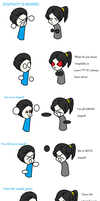 Stupid jokes - vincent and me by ShadowXveronica