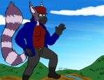 A giant Ringtail out and about by commanderhavoc