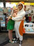 Tinkerbell and Hamtaro by wendoowslive