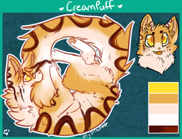 CreamPuff auction SOLD by MystikMeep