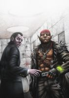 Shadowrun: Grim Gazes by PeterSiedlArt
