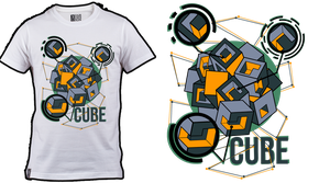 CUBE - Tshirt design. by H4Q4
