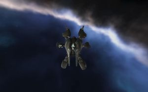EVE My current ship by Karkit