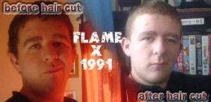 fx1991 before,after hair cut by flamex1991