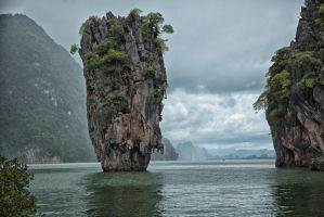 Koh Ta-Pu - James Bond Island by w2photographytoronto