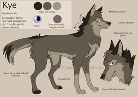 Kye Reference Sheet by The-Nutkase