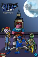 Sly 4: master thieves by oceanweapon
