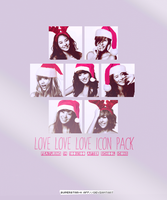 LOVE LOVE LOVE Icon Pack by superstar-k