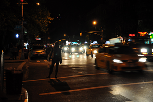 taxi. by analogphoto
