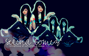 Selena Gomez Wallpaper by BoTToM-oF-tHe-OcEaN