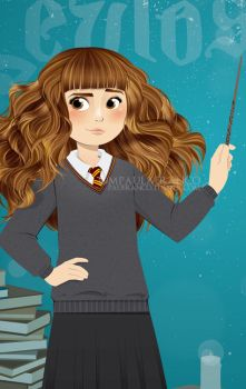 Hermione Granger (Detail) by paufranco