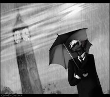 The rain of London by Quckie