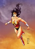 Wonderwoman_Flame. by Troianocomics