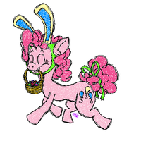 Pinkie Pie the Easter Pony by uhnevermind