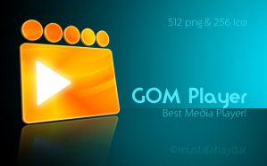 dock icon for gom player by mustafahaydar
