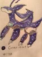 Fakedex No. 130 Gravioat by Duel-King-Altas