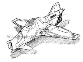 Stubby Starfighter by GTDees
