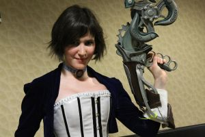 PortCon 2013 - Elizabeth with Skyhook by Willowwolf23