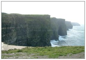 Ireland, the Cliffs of Moher,5 by Lluhnij
