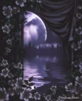 Moon Petals by AshlieNelson