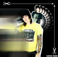 Oliver Sykes by SleazyA