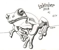 Inktober 2014 drawing 1 by martianpictures
