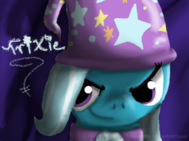 The Great and Powerful Trixie by Biscuit-Rawr