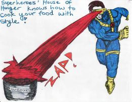 Superheroes HOH Ad-Cyclops by Dreamerzina