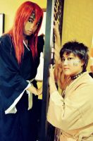 Bleach: Renji and Shuuhei by HRecycleBin