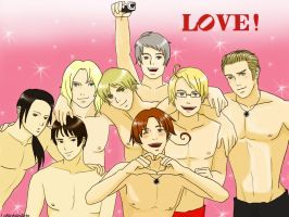 Aph Love by LaNobileArte