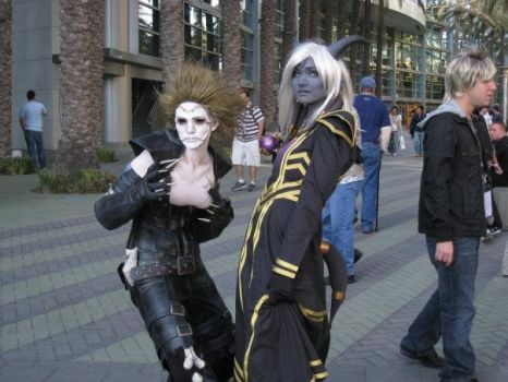 Draenei and Undead by Egg-Sisters-Cosplay