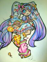 Fairy Kei Vocaloid (Miku) by PhantomButler