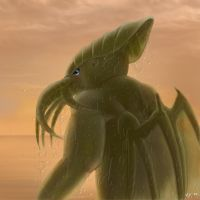CoC - Cthulhu by Vaporeon249