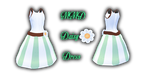 MMD Daisy Dress by Tehrainbowllama