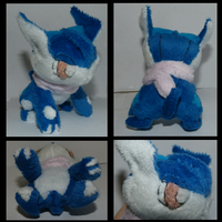 Greninja Pokedoll by Mega-Arts