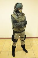 Ghost (COD MW2) Cosplay by PrincessOfCrime