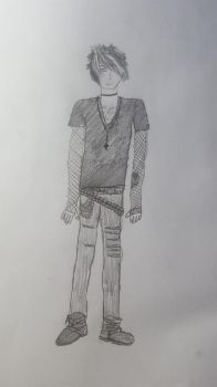 Drawing of Me by Eldritch-Prodigy