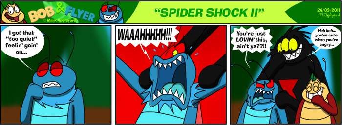 B'n'F - Spider Shock II by BluebottleFlyer