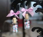 Pink'n'blue marshmallows.. in a bottle! by Charly-chan