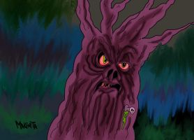 Demon Tree By Makinita-d318com by Makinita