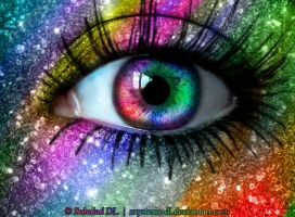 Rainbow Eye by mysteria-dl