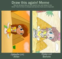 Meme : Before and After by daisy4ever1997