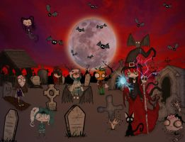Raising the dead on Hallows eve by ScorpionsKissx