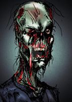 Zombie In Color by benjaminyawn