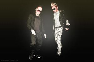 Tom and Bill kaulitz by StephiKaulitz
