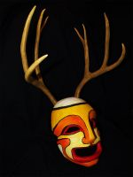 Kabuki Mask - The Endless Forest by Bueshang