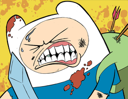 Finn is a violent child by MJRainwater